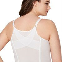 Woman Within Longline Wirefree Bra. Make this your first choice for better posture and support. Imported. 2-section cups with polyfill for shaping and support cushioned adjustable stretch straps wirefree light boning crisscross powernet back supports posture front hook closure Washable nylon/spandex Bras Wed, 03 Feb 2021 09:36:18 +0400