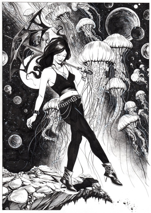 Ŧꃅᙍ ꍏ尺Ϯ Ծ₣ ੮ℌΣ Շ⊕√乇 — The Sandman: Death of the Endless commission...