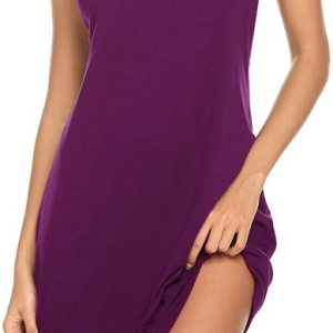Sexy Sleepwear for Women Tank Nightgown Chemise Racerback Sleeveless Sleep Dress. Women tank sleep... , Mon, 19 Oct 2020 09:36:29 +0100