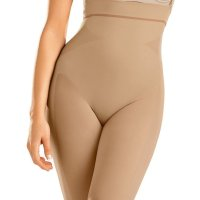 Seamless High Waist Shapewear with Thigh Compression. This is the best seamless undergarment I could find for cl ingy dresses - and I've tried a lot. It has no panty or waistband lines, and doesn't smoosh your butt flat. The leg  opening edges do show under clothing, but at least they don't roll up. I like the idea of this shaper because it enha nces what you have, without any fake padding. It's a little thick and restricting for daily wear, but is great when yo u want to look your best for a special occasion. Leonisa makes a quality product for a fair price. Sat, 05 Dec 2020 04:4 8:45 +0400