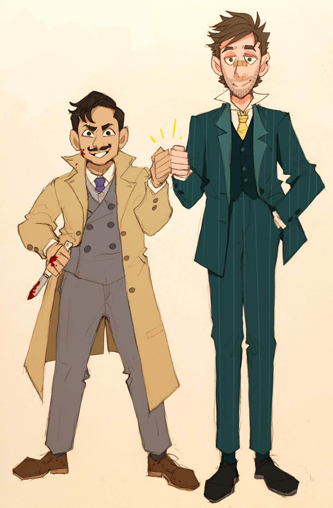 It S The Crime Pals They Commit Solve Crimes