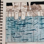 Brook S Art Blog Lopsided Neighborhood