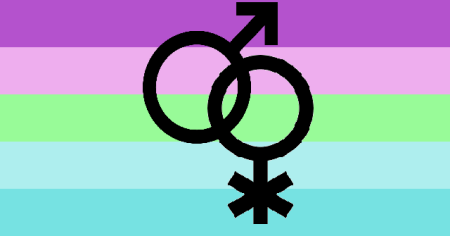 nonbinary people who love men adonic mlnb pride flag