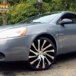 Rimtyme Custom Wheels Tires 2007 Pontiac G6 Sitting On 20 Starr 718 Gatsby