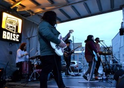 A huge thanks to PSI Audio for sponsoring our Radioland Stage! Without you, we couldn't host amazing bands like Seattle's Cumulus, who figuratively ripped the stage last night [so don't worry PSI] at the KEXP Showcase. #Treefort2019 #RadioBoiseAlive #MediaSponsor