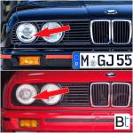 Bimmertips Com Know The Difference E30 Smiley Headlights