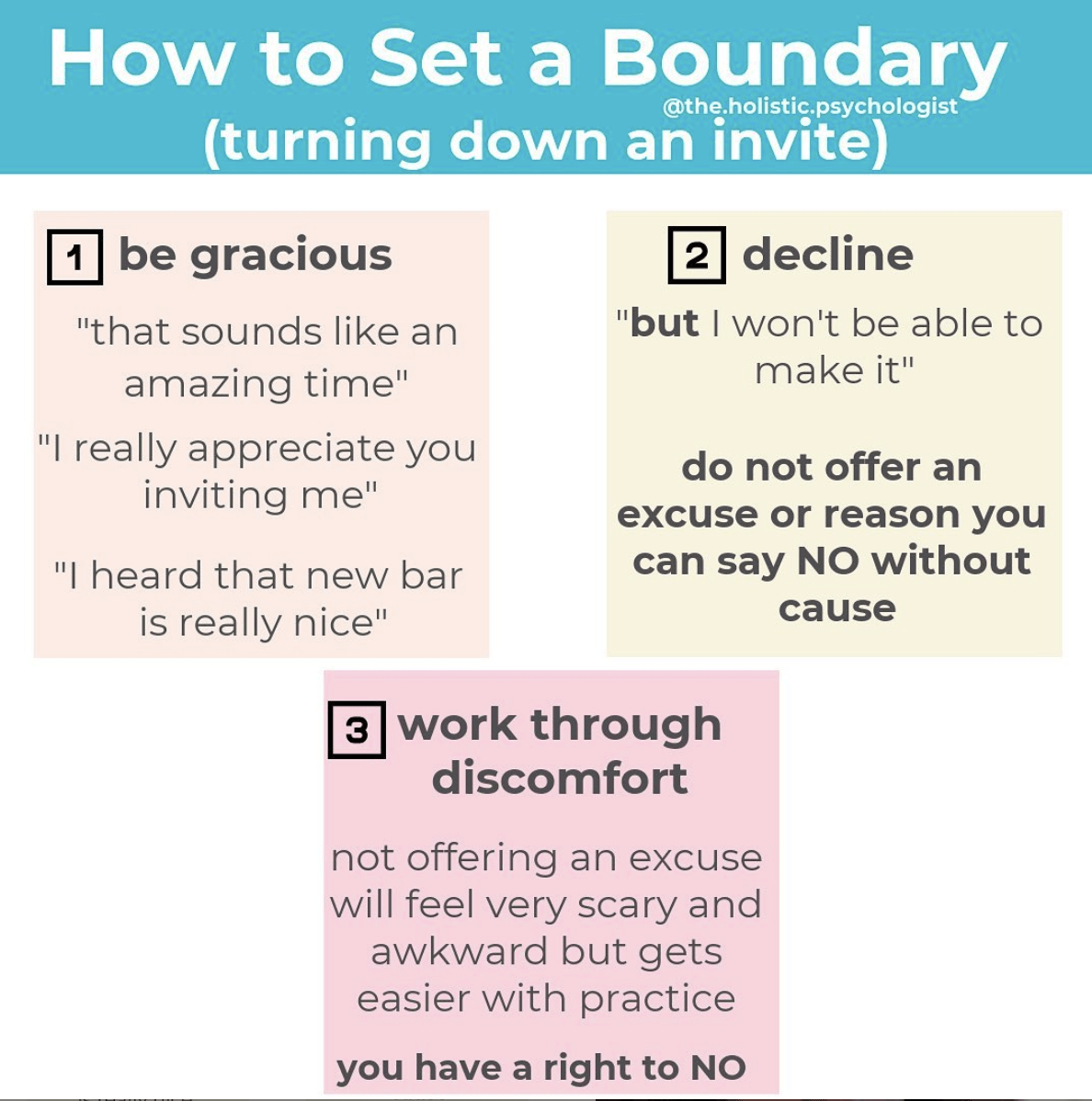 Boundaries With Family