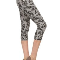 Premium Quality Ultra REGULAR and PLUS SIZE Soft Best Selling Capri Cropped Print Leggings. These feel AMAZING t hey are Capri, better priced Let's. I bought two and once I am done with this review I am purchasing more! I am well e ndowed on my bottom and have think thighs. I am a size 12 jeans (on a good day) and size large on regular leggings and e xercise pants. The one size fits me perfectly, not tight, not lose, doesn't hang low and I don't have to keep pullin g them up like I normally do with tights due to my large behind. I absolutely recommend these! NOTE the Lilac in Bloom i s not as pink as in the sellers picture. I've attached a picture of what it looks like in the sun. Mon, 15 Feb 2021 19 :12:17 +0400