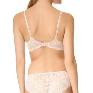 Lightweight mesh and scalloped lace frame updates this triangle space bra to a sexy silhouette with... , Tue, 26 Jan 2021 14:24:37 +0000