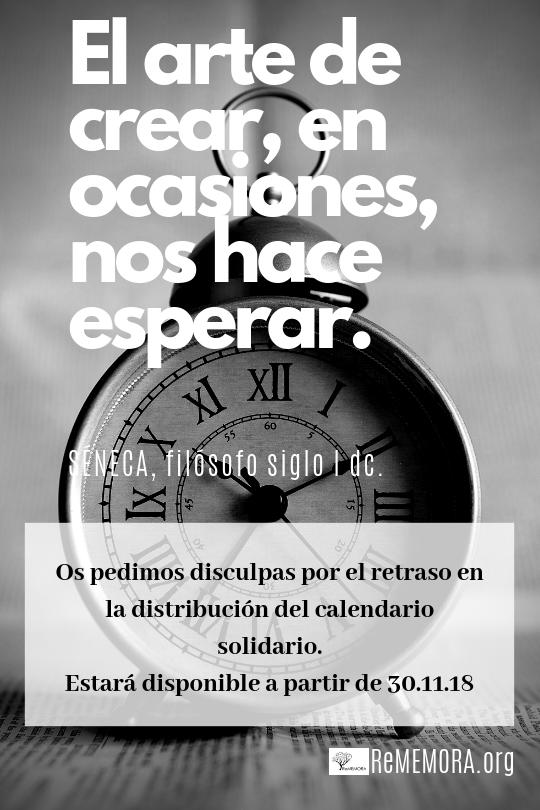 calendario solidario contra alzheimer
