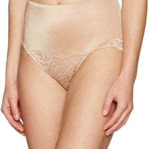 Women's Microfiber and Lace Tummy Control Brief Panties Shapewear. Floral lace briefs with... , Fri, 07 Aug 20 20 09:36:32 +0100