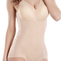 Firm Compression Bodysuit Wear Your Own Bra Shapewear. A seamless construction and silken fabric team up to luxuriously shape your body. This bodysuit flattens your tummy and dominates your hips and thighs for sleek style. It secretly slims, shapes and smooths your body while serving as an excellent alternative to regular briefs, which is your secret weapon under any outfit! Sun, 29 Nov 2020 04:48:44 +0400