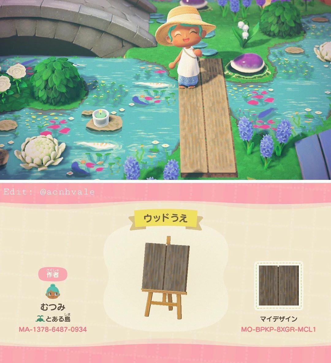 #custom path Tumblr posts - Tumbral.com on Animal Crossing New Horizons Wood Design  id=62472
