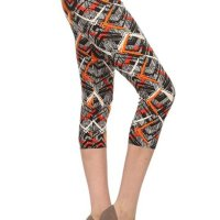 Premium Quality Ultra REGULAR and PLUS SIZE Soft Best Selling Capri Cropped Print Leggings. These feel AMAZING t hey are Capri, better priced Let's. I bought two and once I am done with this review I am purchasing more! I am well e ndowed on my bottom and have think thighs. I am a size 12 jeans (on a good day) and size large on regular leggings and e xercise pants. The one size fits me perfectly, not tight, not lose, doesn't hang low and I don't have to keep pullin g them up like I normally do with tights due to my large behind. I absolutely recommend these! NOTE the Lilac in Bloom i s not as pink as in the sellers picture. I've attached a picture of what it looks like in the sun. Tue, 16 Feb 2021 04 :48:36 +0400