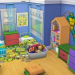 I Create Bedroom Sets For The Sims 4 Complete Toddler Bedroom Set For The Sims 4 8