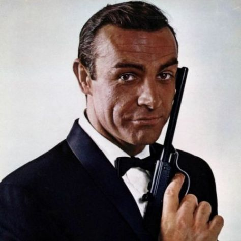 sean connery, james bond, photo by ronald grant