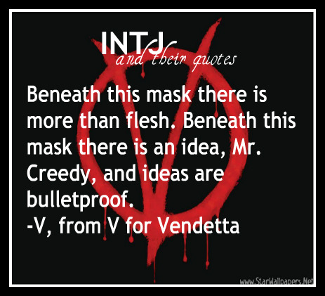 Intj Quotes Remember Remember The Fifth Of November The