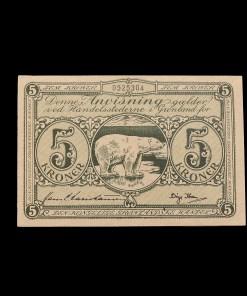 Grønland : 5 kroner 1953