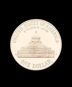 USA : One dollar 2000 Library of Congress