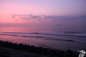 [龜山朝日] 幸運是天賦!夢境般的粉紅色日出