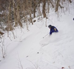 Craig Deep in the Notch on his WhiteRooms