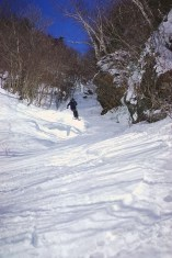 Vin airborne in Scarry Larry Chute