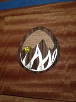 Custom Ian Fund Logo inlay