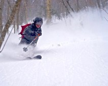 The Other One's floating thru the deep VT powder