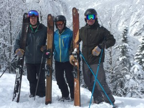 Nothing better than friends on a powder day!
