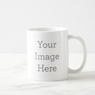 create your own 11oz coffee mug, white