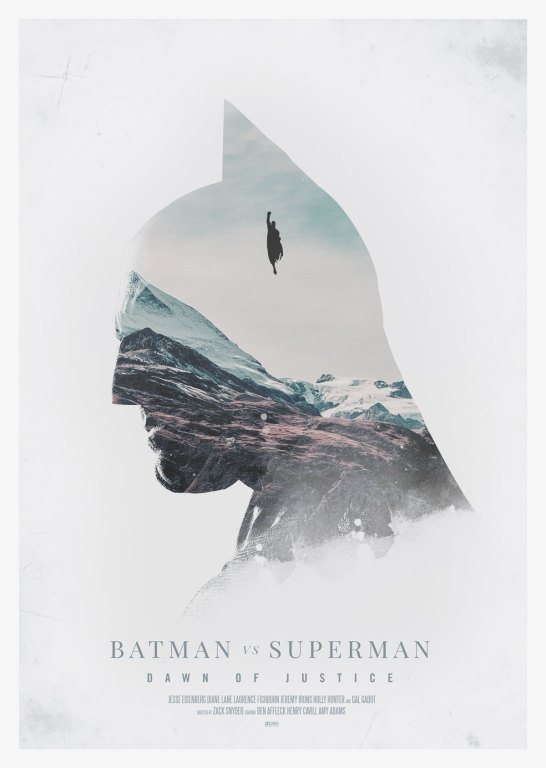 Day 100 of 365 – Batman V Superman (Batman Edition). Print available at http://craftandgraft.co