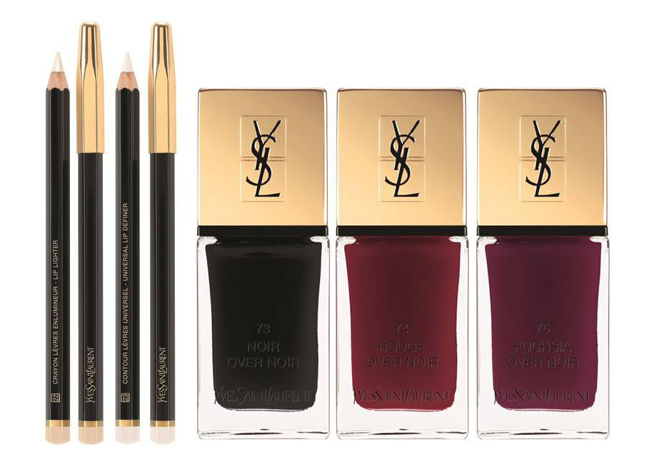 YVES SAINT LAURENT VERNIS A LEVRES VINYL CREAM Fall 2016 beauty collection Cara Delevingne by Craig McDean (tbc)