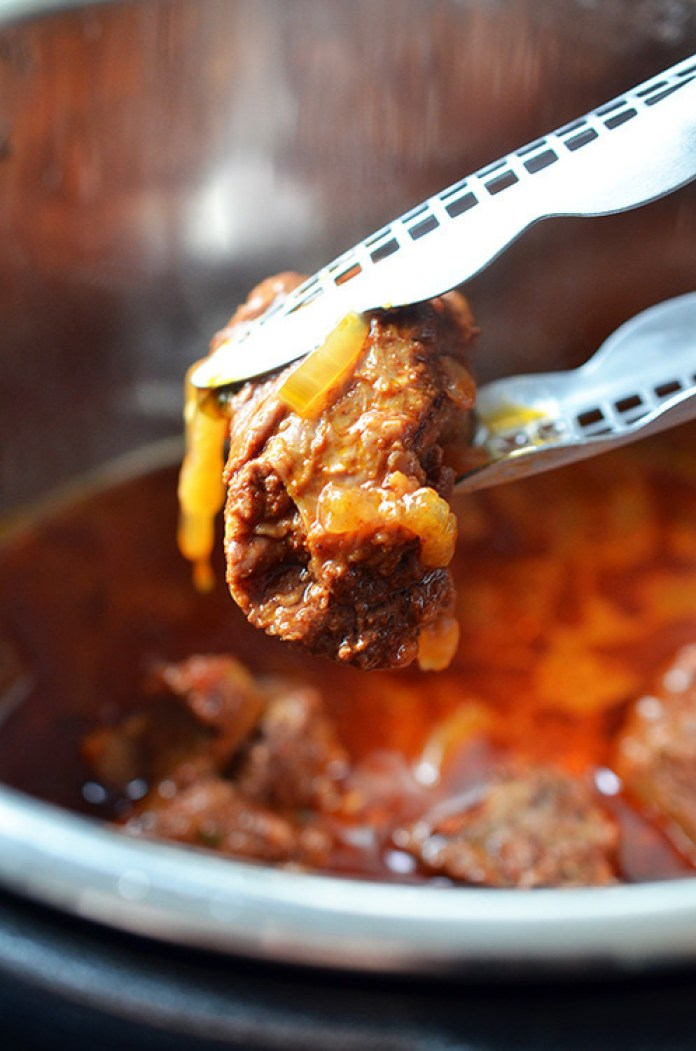 Pressure Cooker Mexican Beef