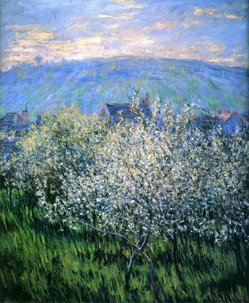 "bofransson:"" Claude Monet - Plums Blossom"""