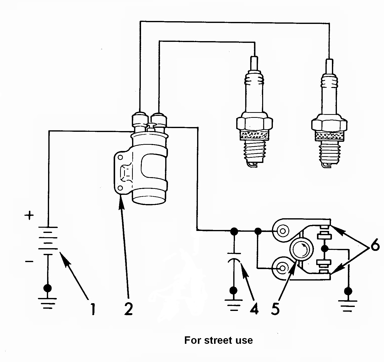 Beetle Coil And Distributor Wiring