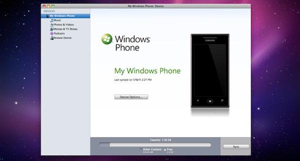 Windows Phone 7 Connector: Microsoft's First Mac App Store ...