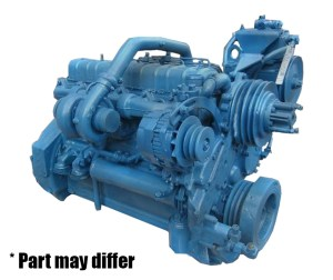 International DT360 Remanufactured Long Block | US Engine Production INC | Engines and Auto