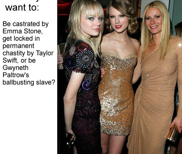 Emma Stone Taylor Swift Gwyneth Paltrow