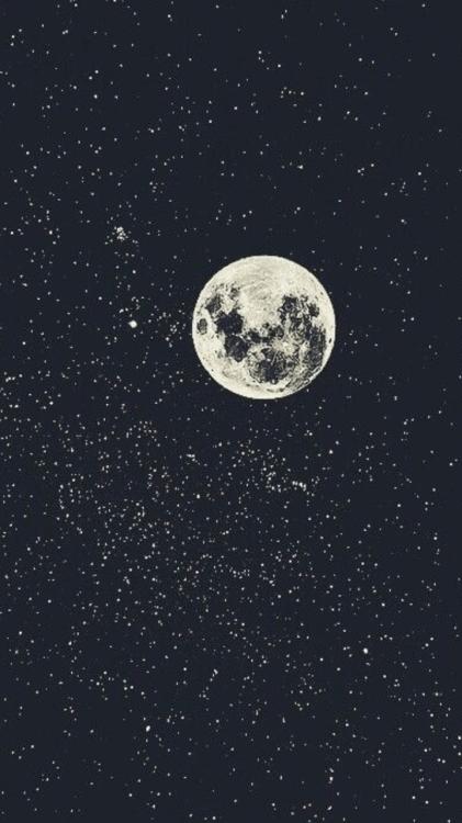 moon and stars on Tumblr