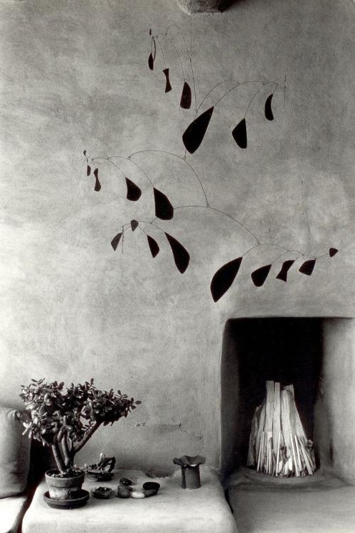 nobrashfestivity: Myron Wood, Mobile by Alexander Calder at... 1