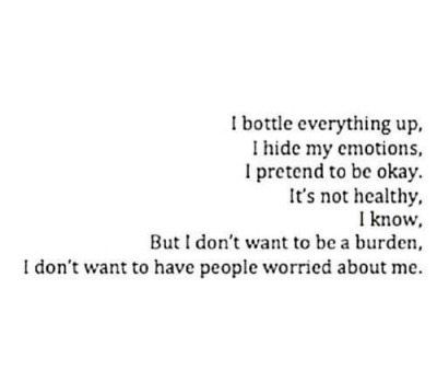 Bottle Up My Emotions Tumblr