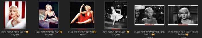 Some Like It Hot,Sugar Cane Kowalczyk,Marilyn Monroe,1926,Norma Jeane Mortenson,Let's Make Love,The Misfits Roslyn Taber,Amanda Dell,The Seven Year
