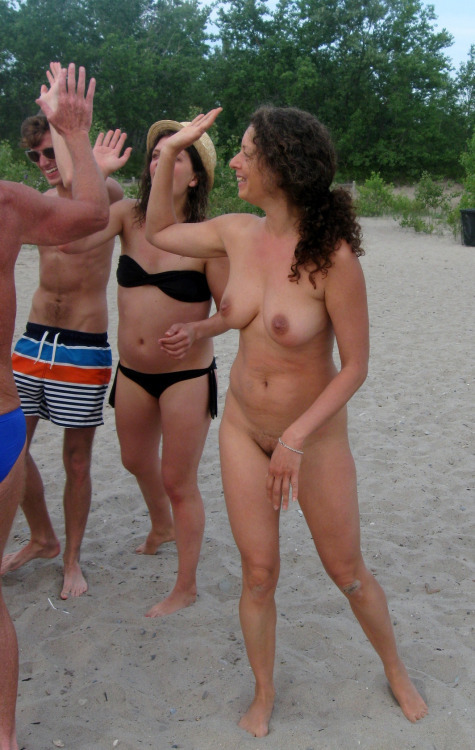 Nude beach only one naked agree