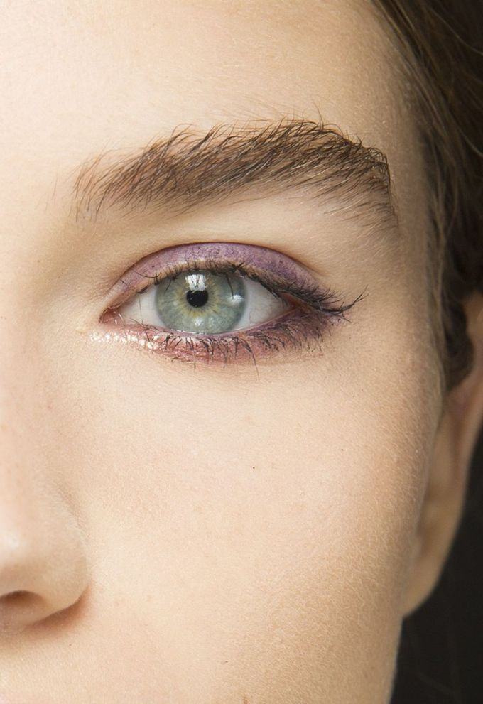 makeup tips — how to wear purple eye makeup (for green eyes)