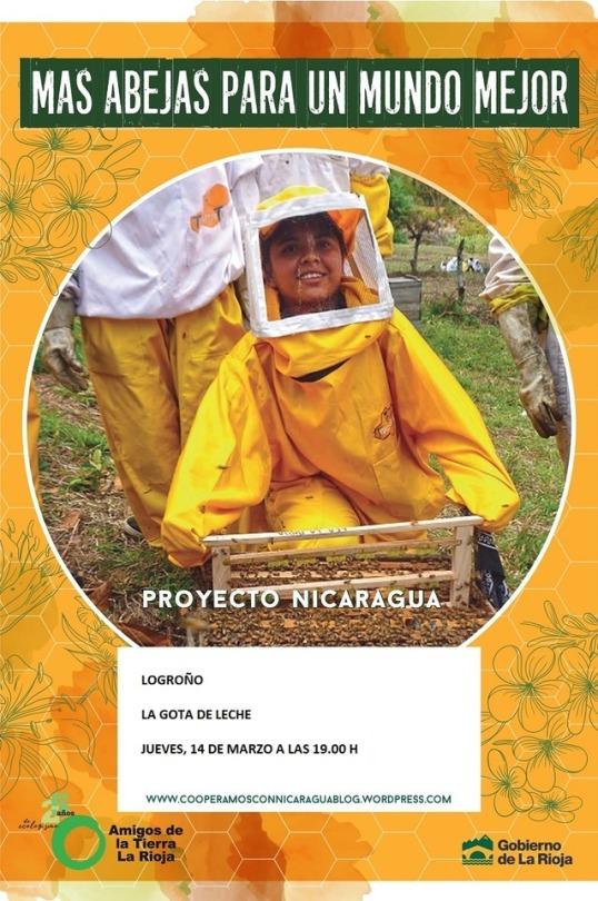 Amigos de la Tierra La Rioja realiza una campaña para divulgar el trabajo que realiza en materia de cooperación en Nicaragua y la acerca a Logroño