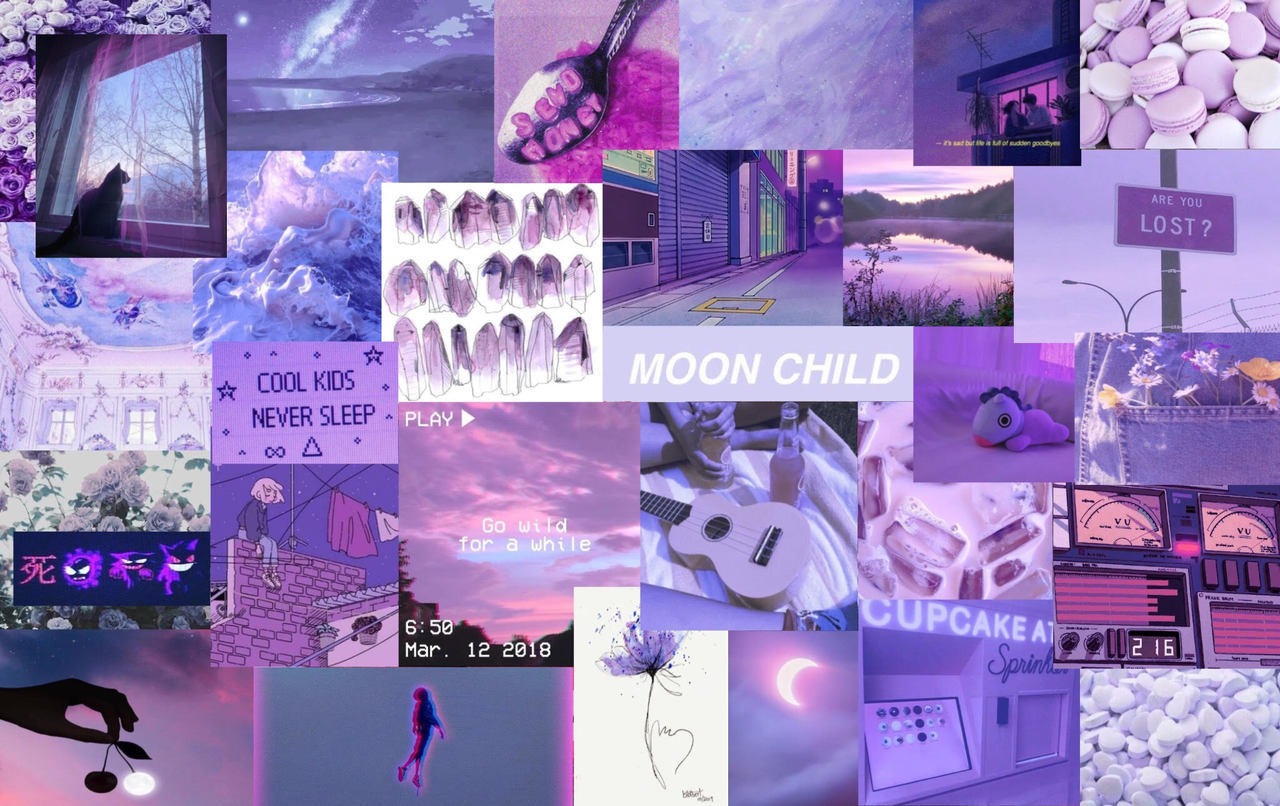 Tons of awesome purple aesthetic collage wallpapers to download for free. #collage purple Tumblr posts - Tumbral.com