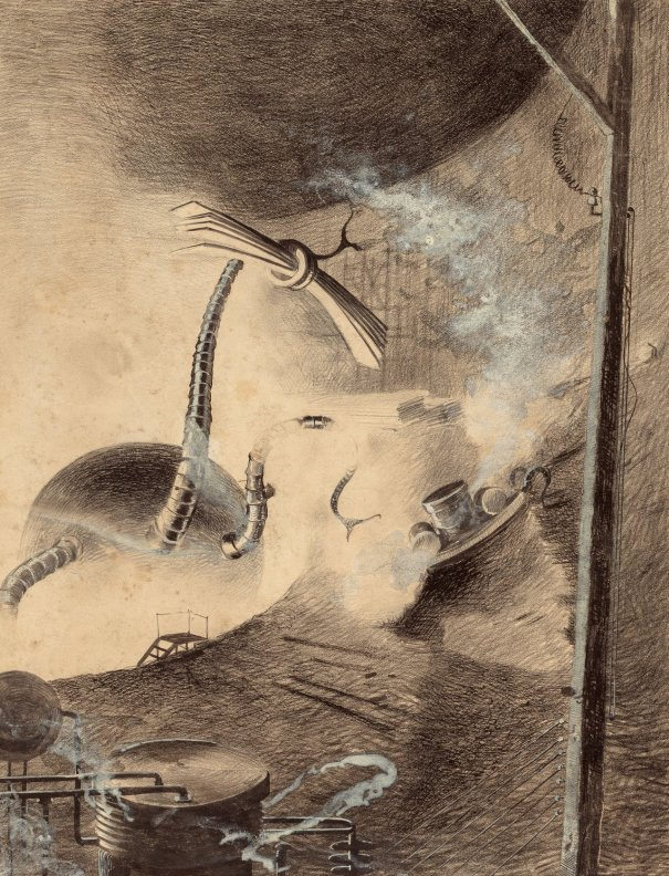 "Martian Handler"": Henrique Alvim Corrêa art f… – Vintage Technology"