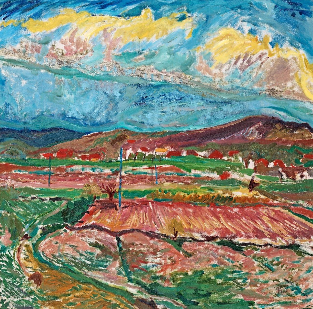 "terminusantequem: "" Ragnar Sandberg (Swedish, 1902-1972), Summer, 1931. Oil on canvas, 74.50 x 75.50 cm """