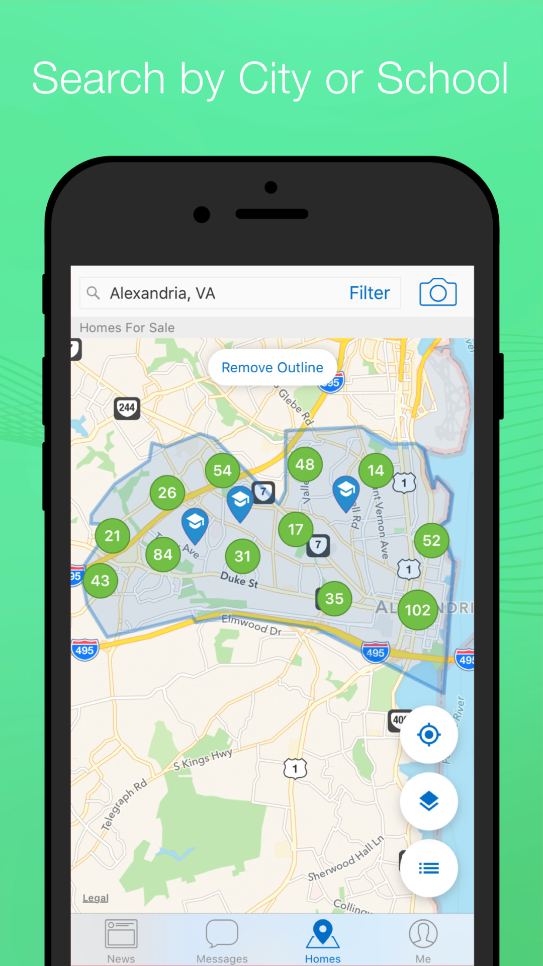New Home Search Features in Homesnap | Map Home Search on home map plan, home map design, home plan search, home new construction, home employment search, home finder by map,