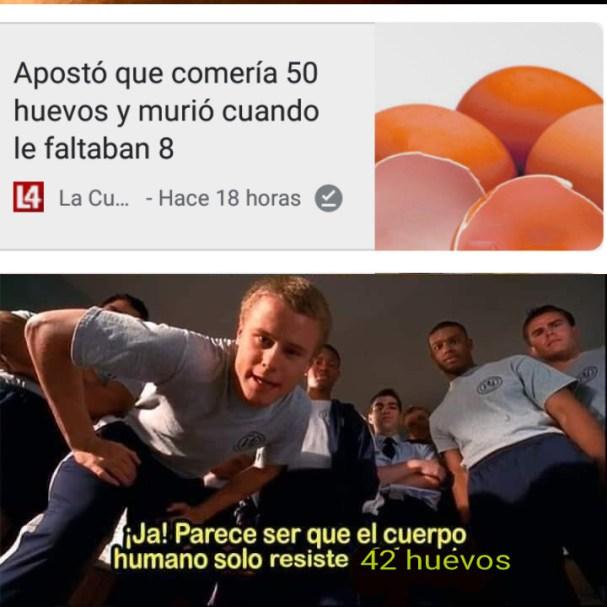 Cincuenta huevos